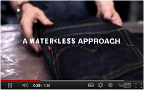 Levis Waterless Jeans Finishing Process
